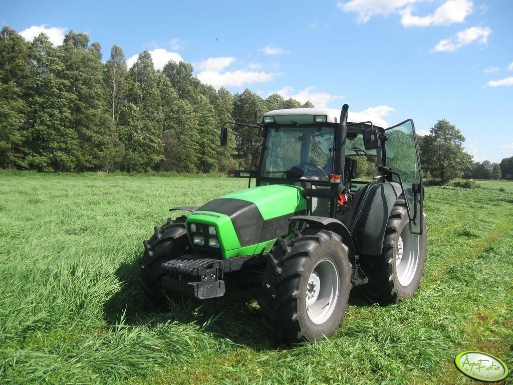 Deutz - Fahr Agrofarm 420 + Samasz 1,85