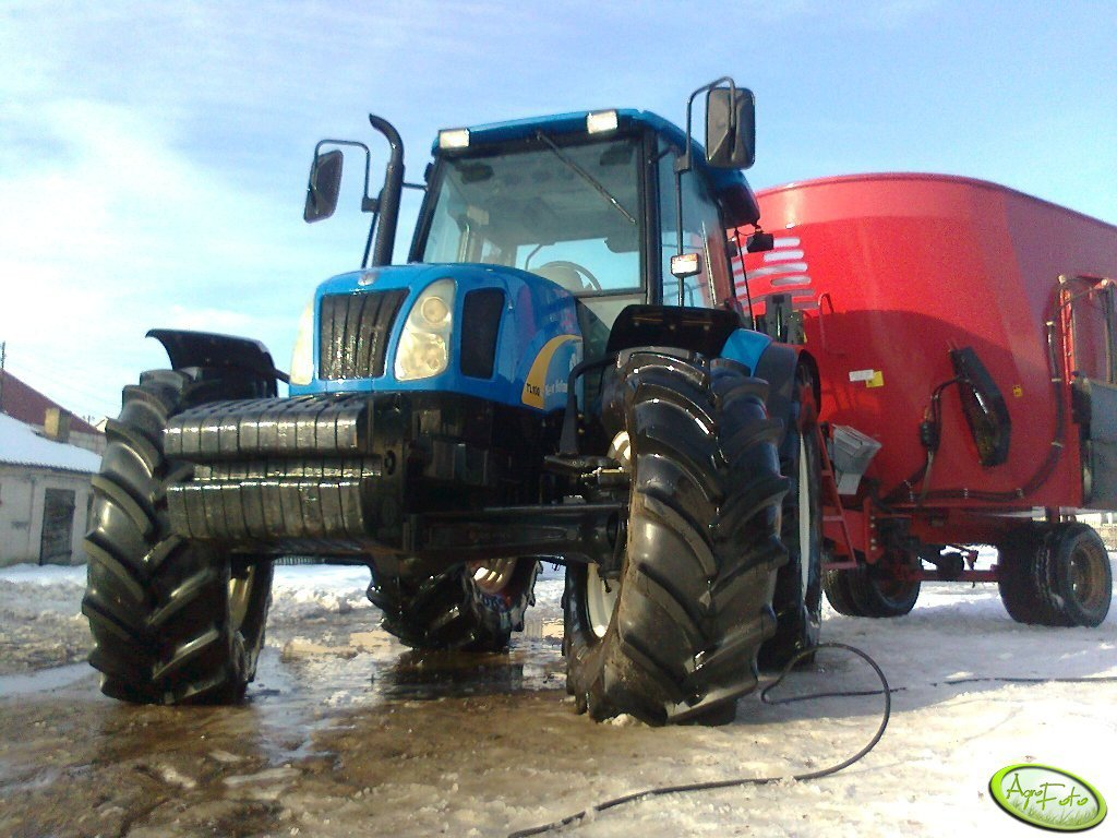New Holland TL100A + Metal Tech