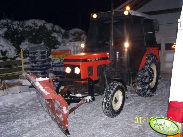 Zetor 7211 + pług śnieżny