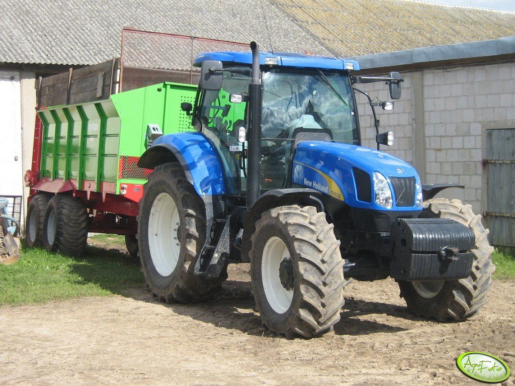 New Holland T6030 RC i Tytan 13