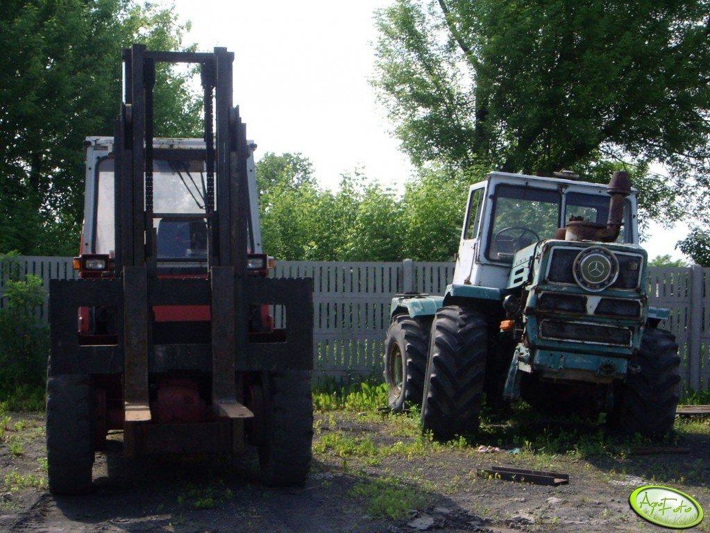 T 150 K & wózek widłowy
