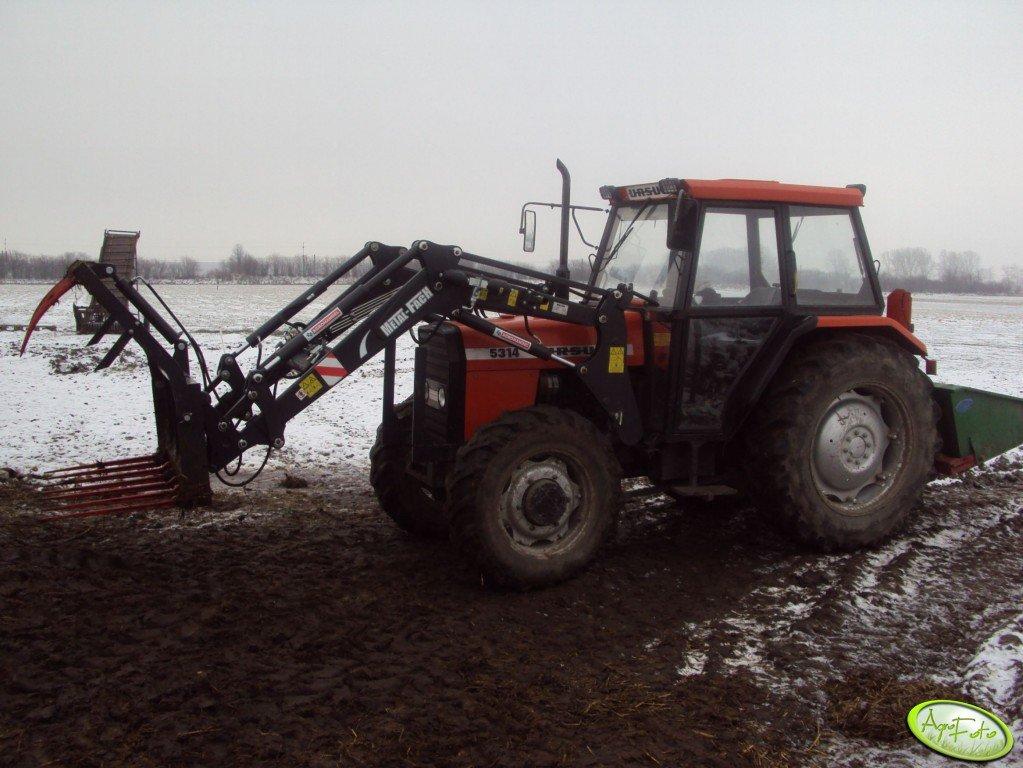 Ursus 5314 + TUR Metal-Fach T-229/1