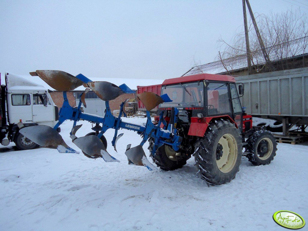 Zetor 7745 Turbo + Lemken EurOpal 5