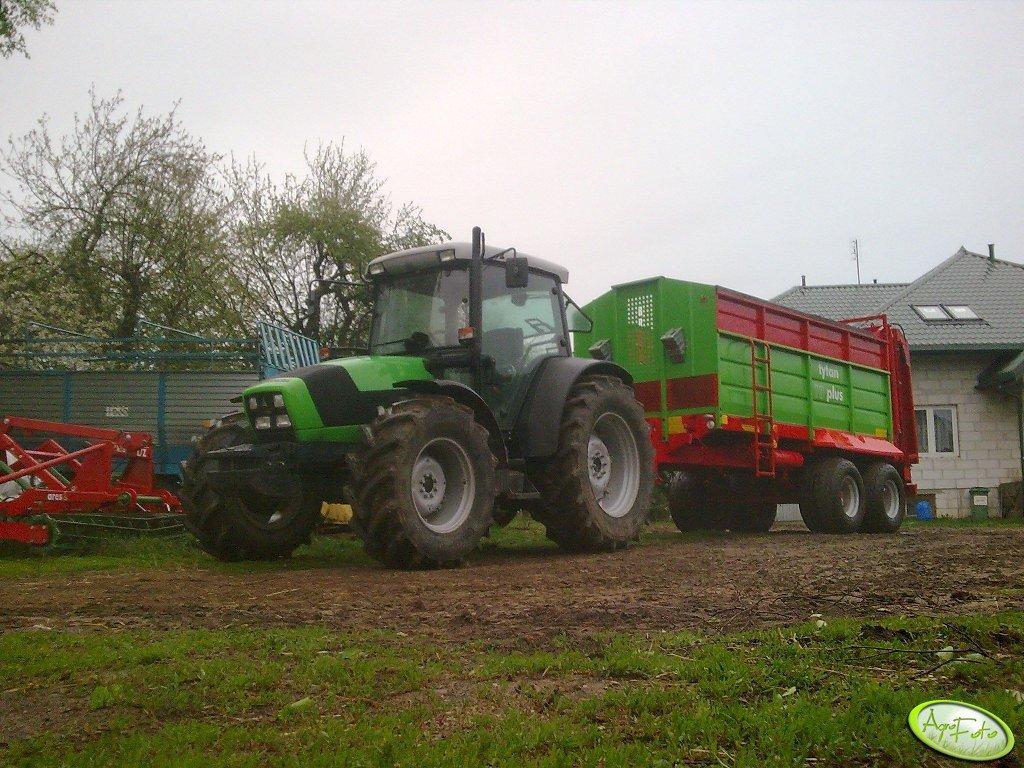Deutz-Fahr Agrofarm 420 + Tytan 10 Plus