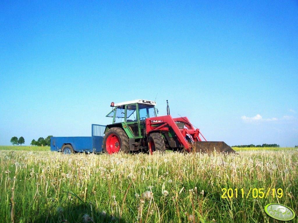 Fendt Farmer 306 LSA i Mailleux + dwukółka