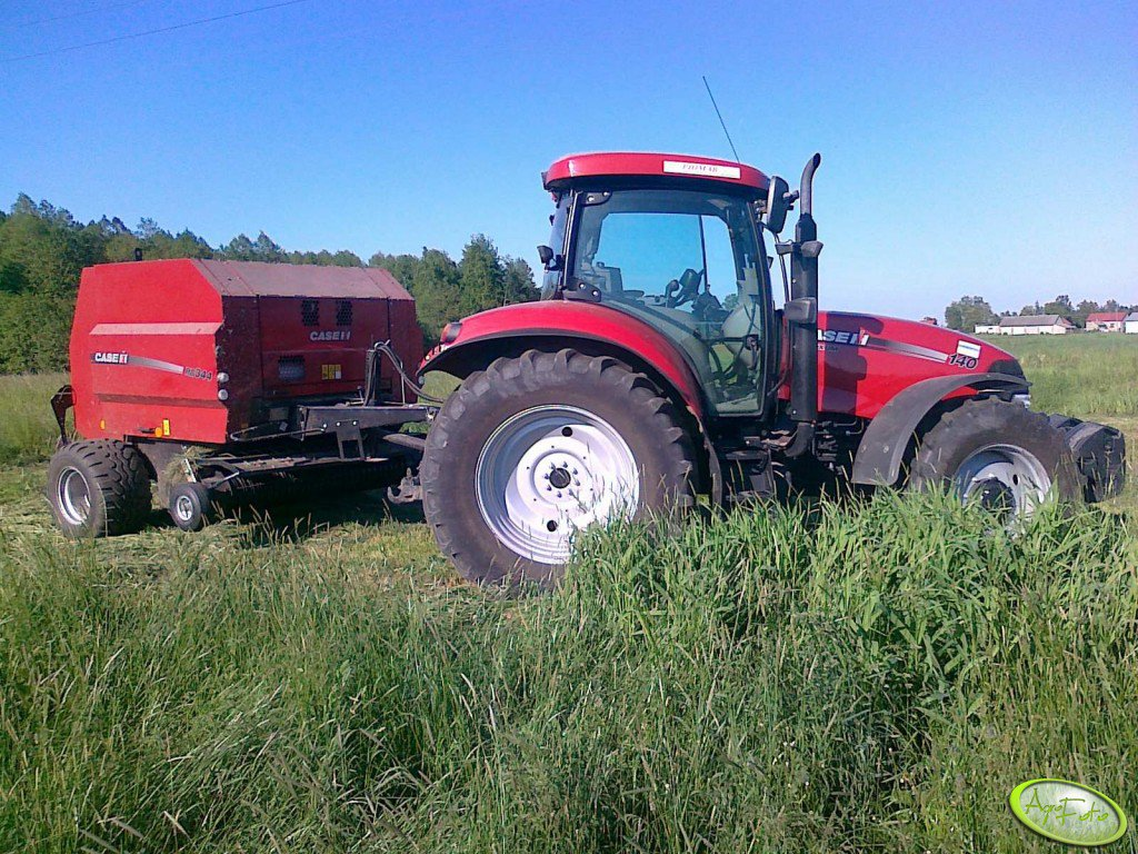 Case Maxxum 140  MC +  RB344R