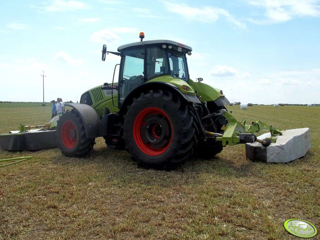Claas Axion 850 + 2x Claas Disco