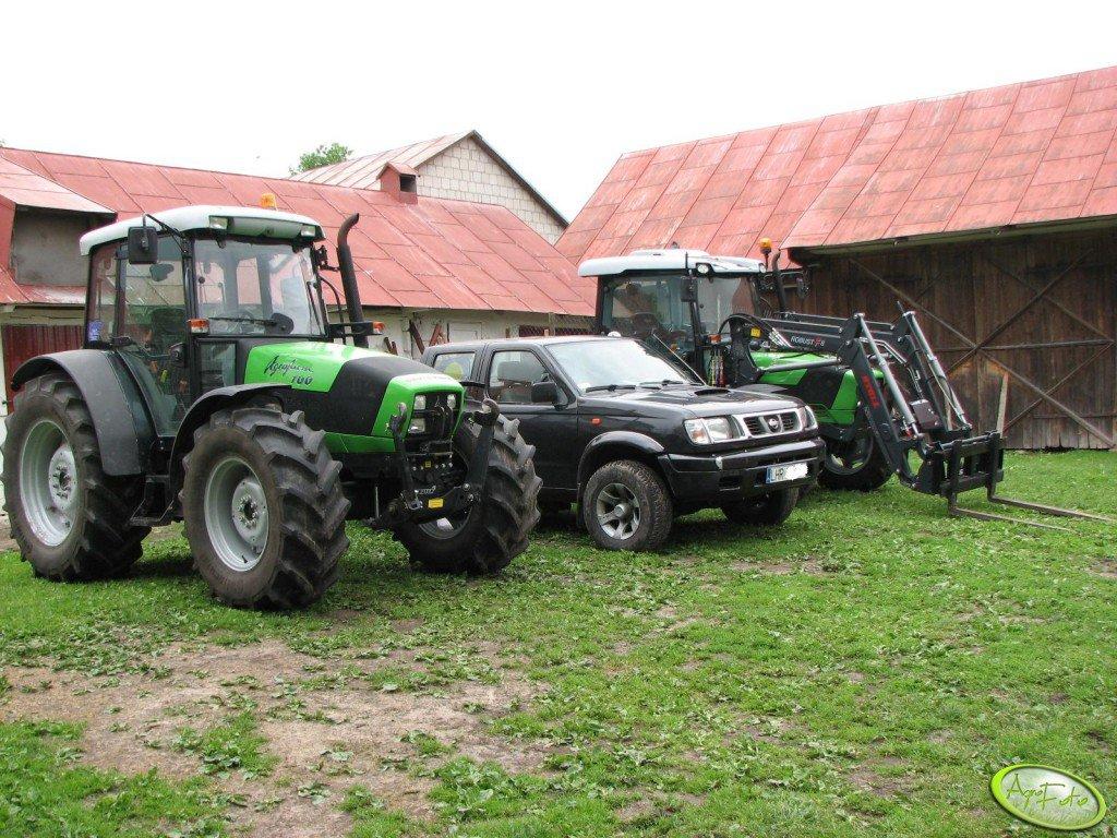 Deutz Fahr Agrofarm 100 i Agroplus 320 gs