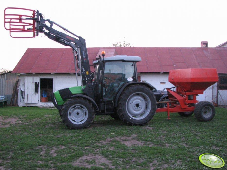 DF Agroplus 320 GS + Kuhn 1500
