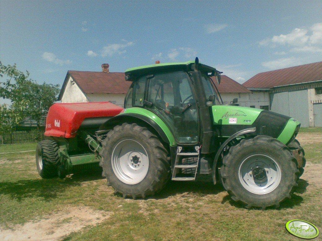 Deutz Fahr Agrotron 100 & Orkel GP 1260
