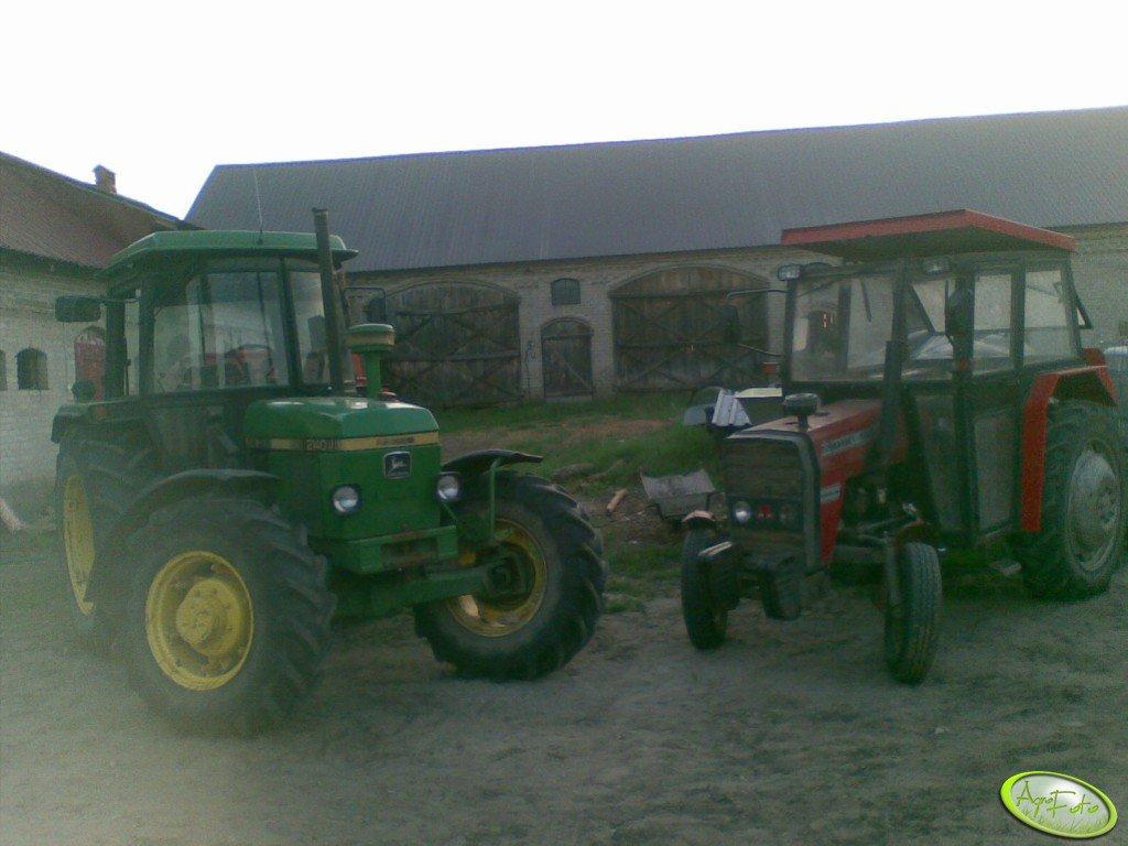 JD 2140 i MF 255