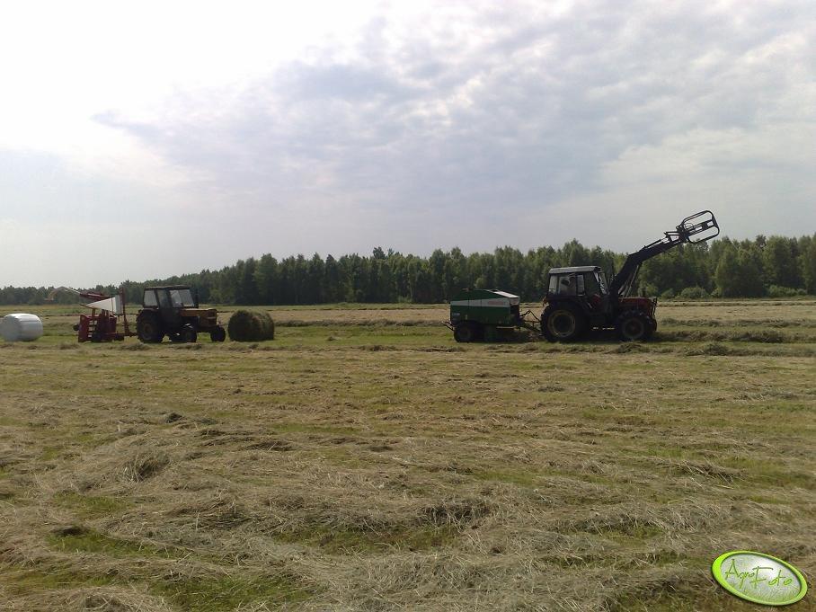 Ursus C-360 & Metal-Fach i Zetor 7745 & Sipma
