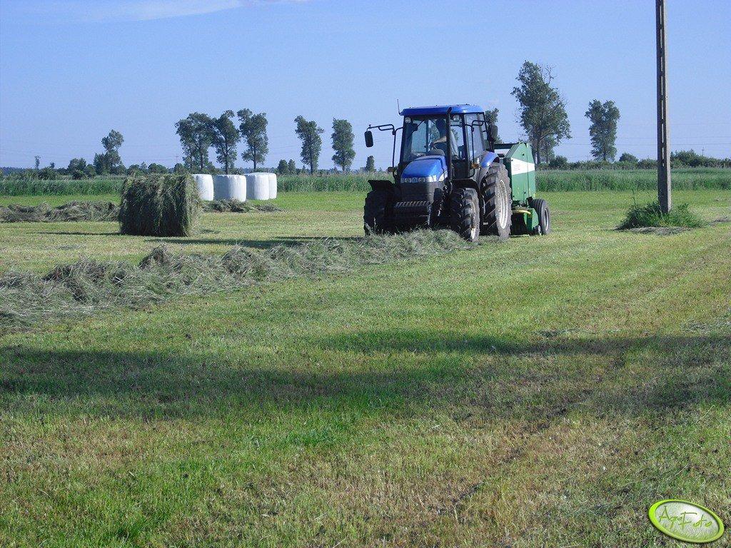 New Holand TD95D + Sipma farma