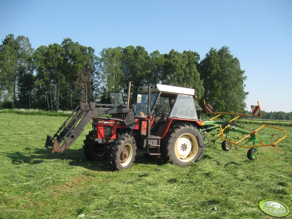 Zetor 7745 TURBO +  Hydrometal AT - 10 + SaMasz P530