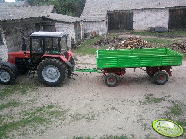 Belarus 1025 + Autosan