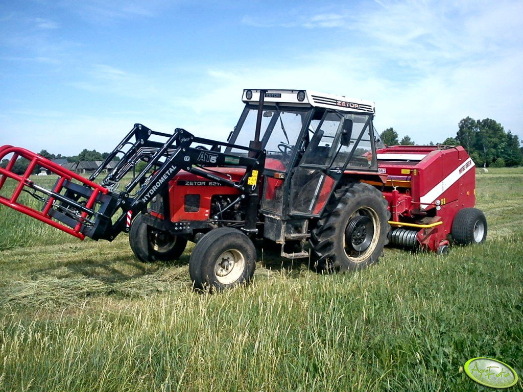 Zetor 6211 + Hydrometal AT5plus + Metal-Fach Z-562
