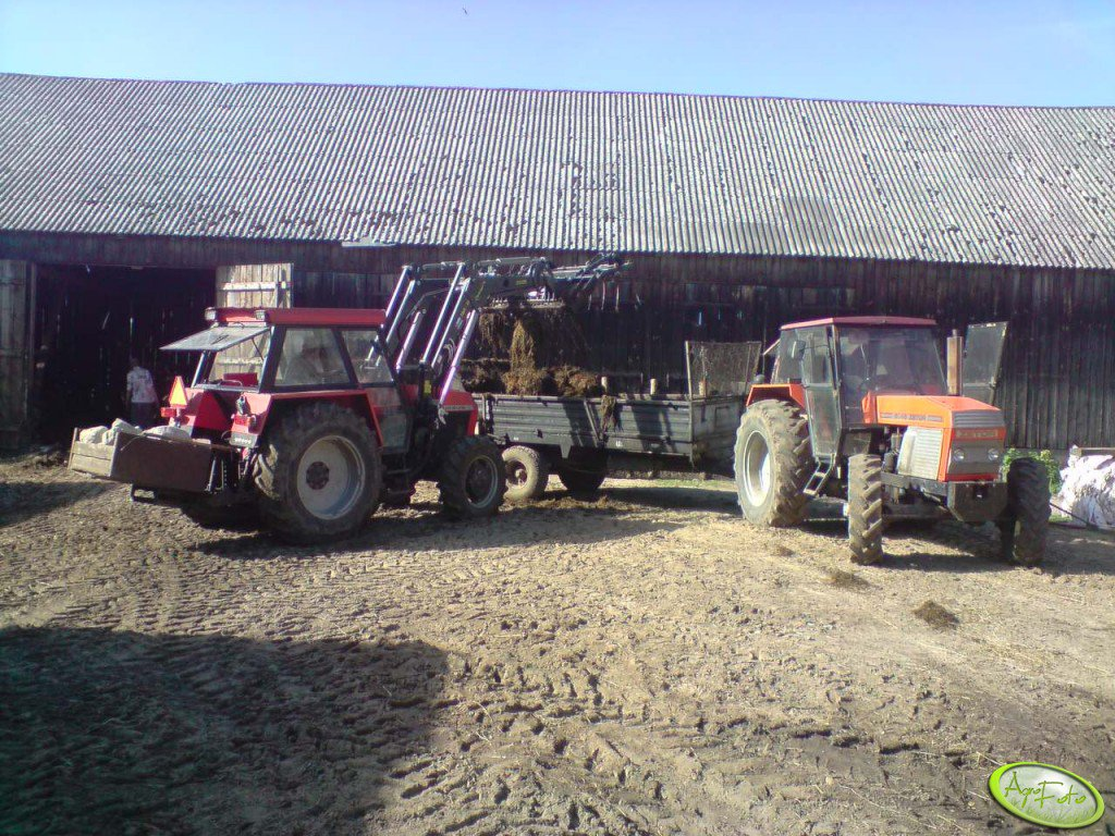 Zetor 8045 i Ursus 914
