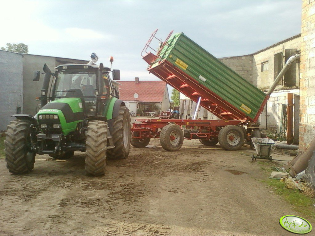 Deutz Fahr Agrotron M620 + Metal Tech DB 10 000