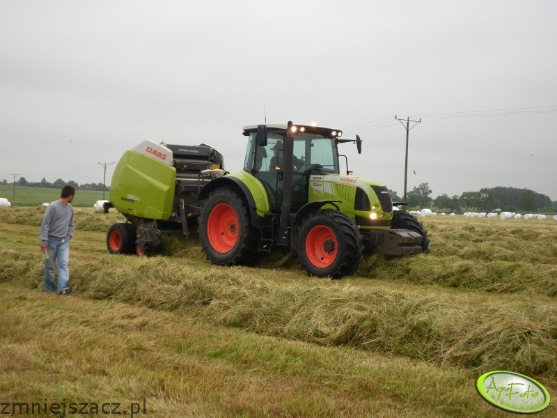 Claas Arion + Variant 360c