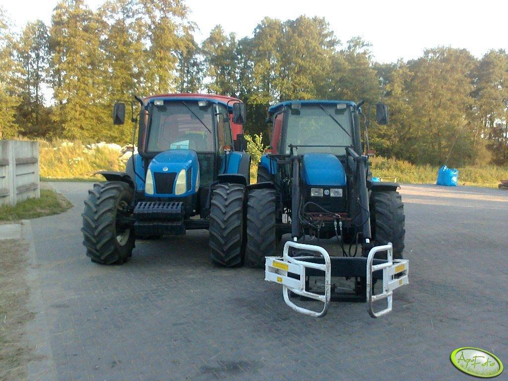 New Holland TL100A i  New Holland TL100