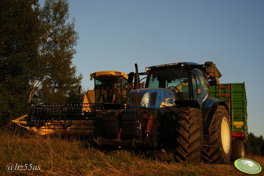 New Holland x2