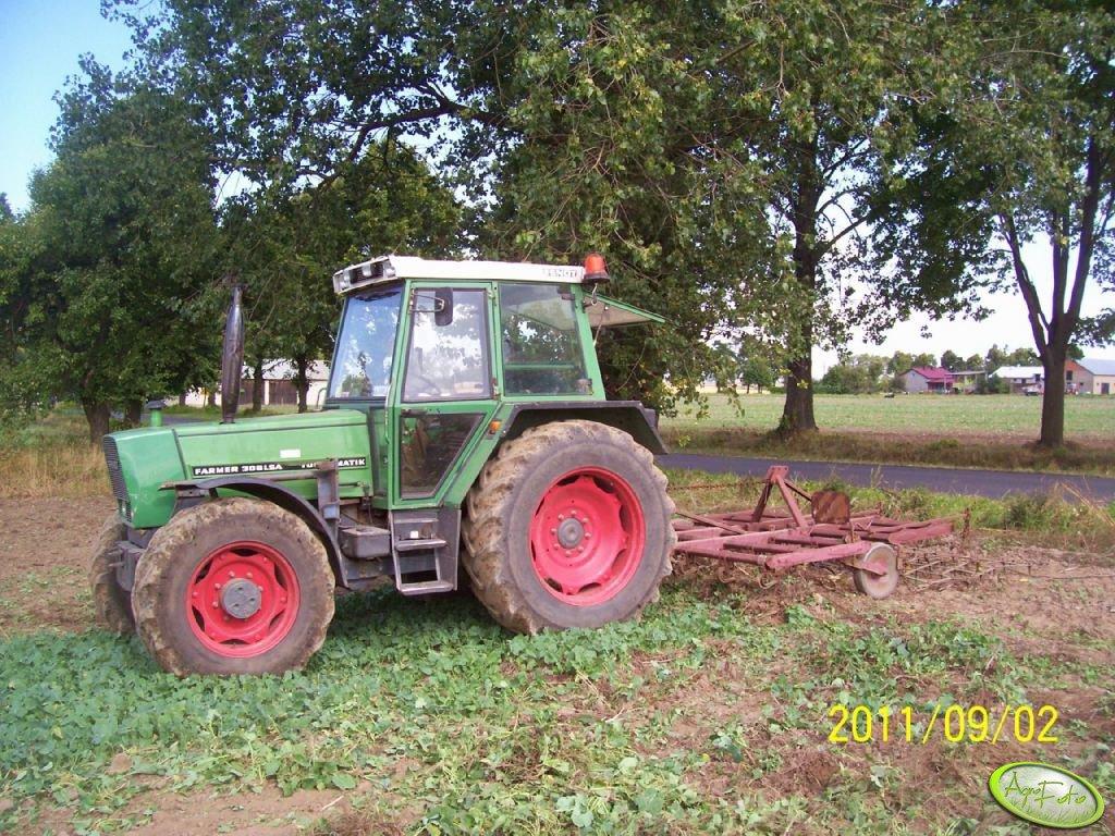 Fendt Farmer 306 LSA i Kultywator