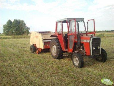 Massey Ferguson265 + Krone125