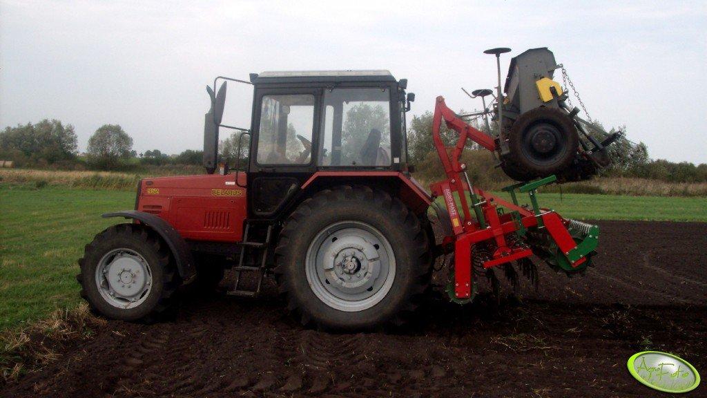 Belarus 952 + Agro-Masz + Poznaniak