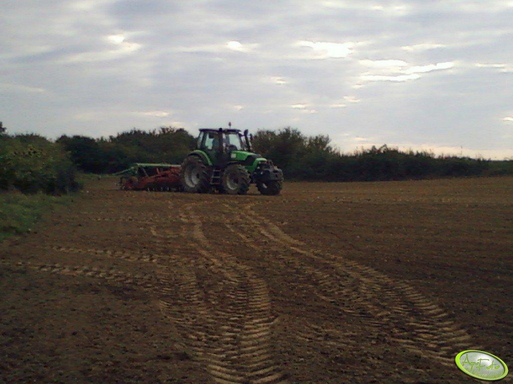 Deutz-Fahr Agrotron M620 + Hassia DK 450
