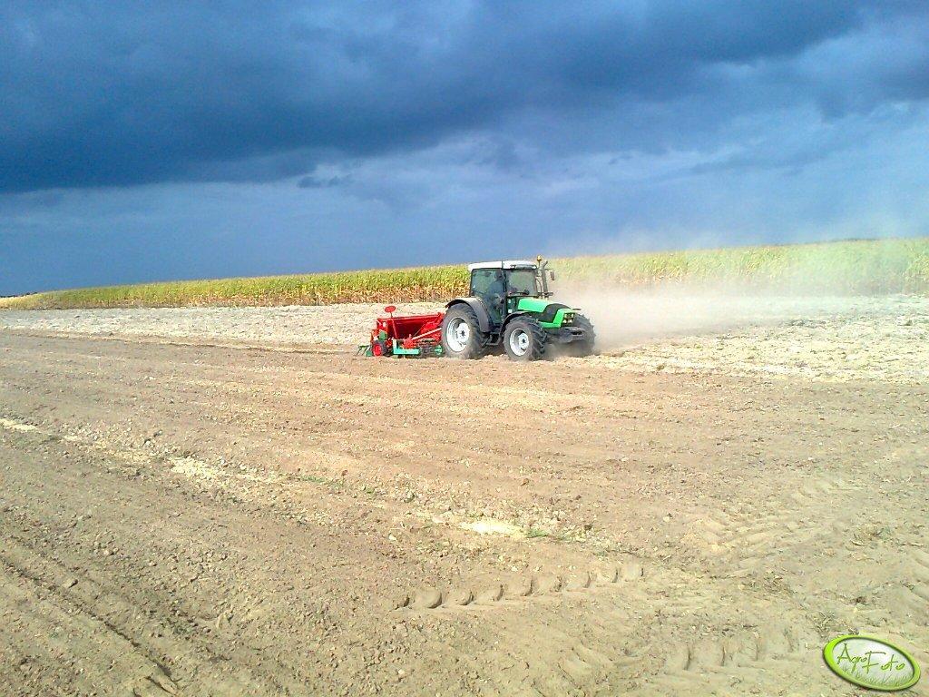 Deutz - Fahr Agrofarm 420 + Agregat uprawowo-siewny