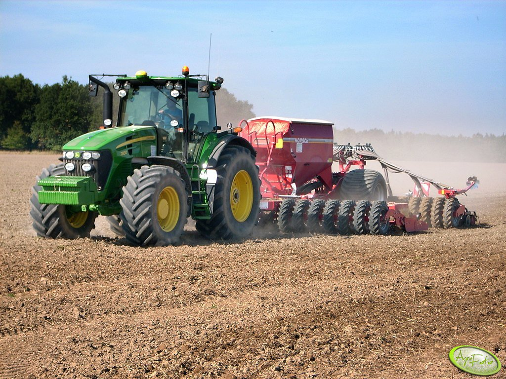 John Deere 7830 + Horsch 6 AS