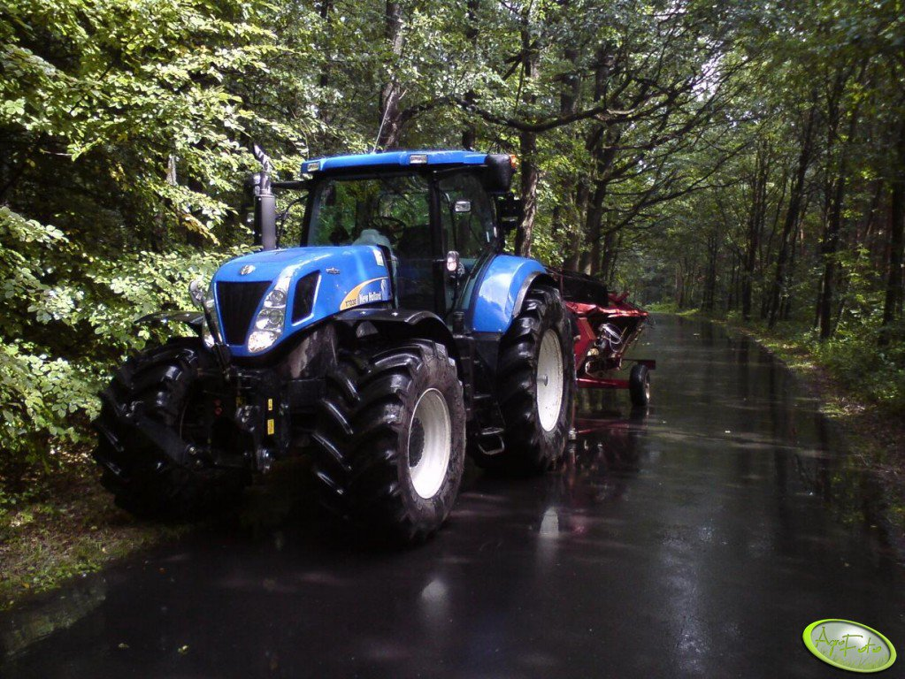New Holland T7030 Autocommand + heder Case