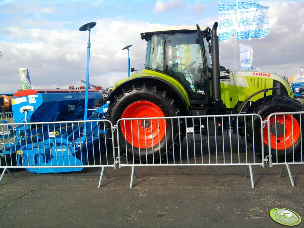 Claas Arion & Lemken