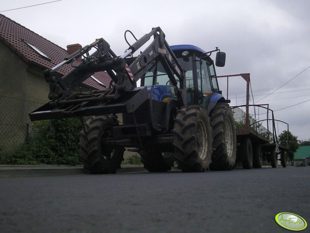 New Holland TD5050 + Dłużyce