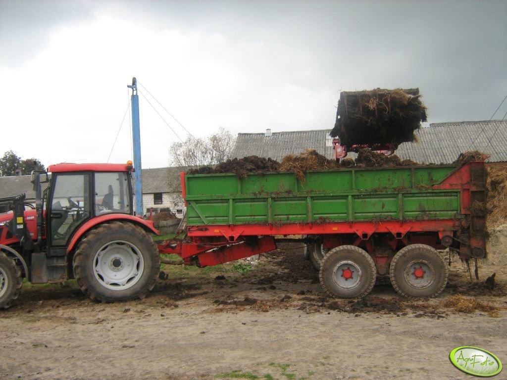 Rozrzutnik 8 ton