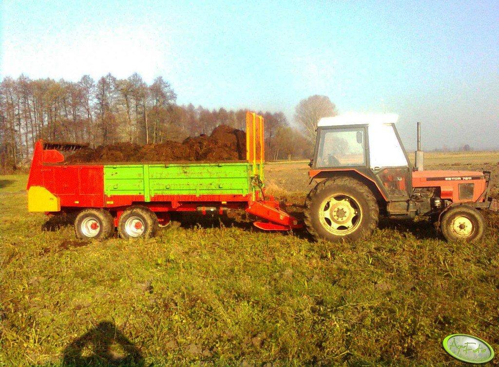 Tandem 8 ton + Zetor 7211