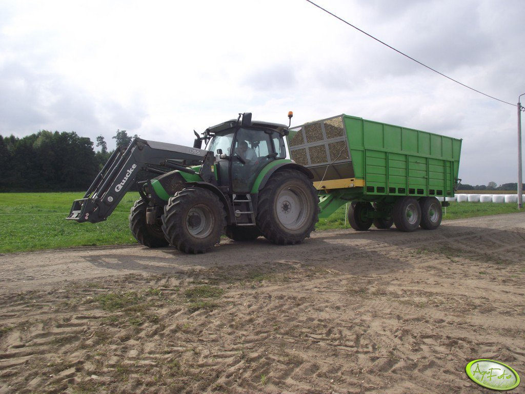 Deutz Fah K430r & Quicke Q55