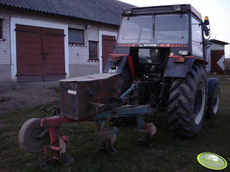 Zetor 5340 + Unia Grudziądz 2+1 i 300kg