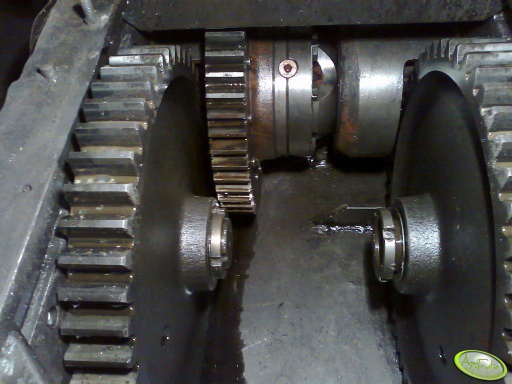 Mechanizm różnicowy w Bizonie Z056