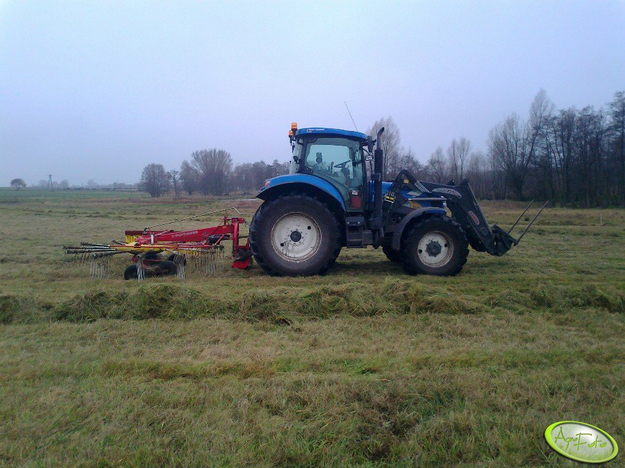 New Holland T6070PC + Pottinger