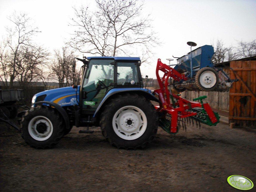 New Holland T5040 & Agro-masz + Poznaniak 3m