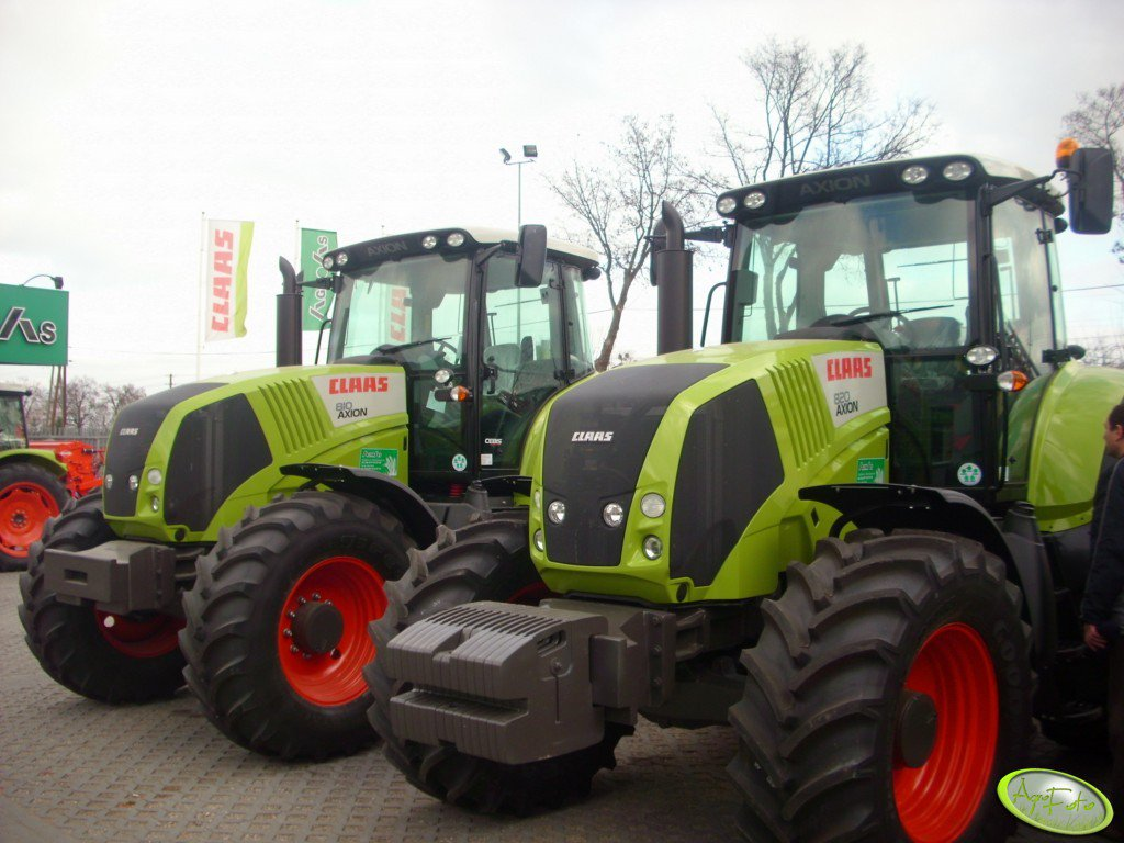 Claas Axion 810 & Axion 820