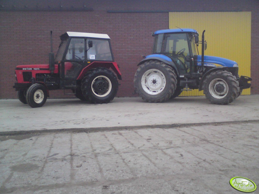 Zetor i New holland
