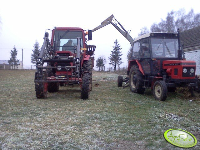 Mtz 82 & Zetor 5211