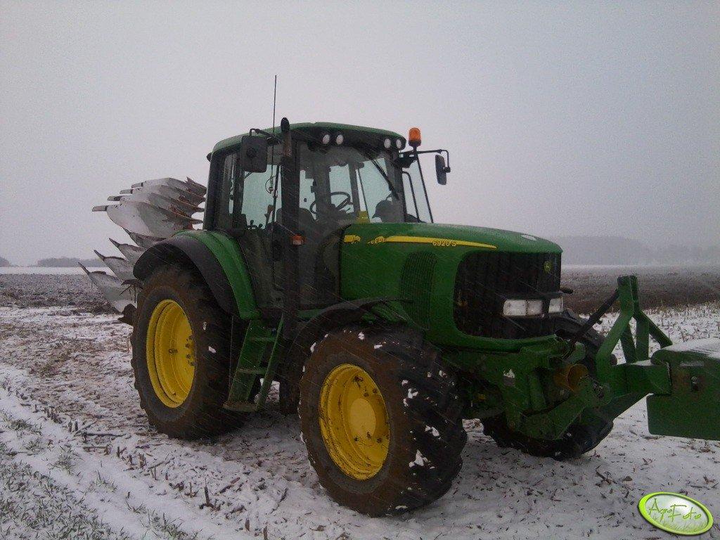 John Deere 6920 S i Kverneland ES 95