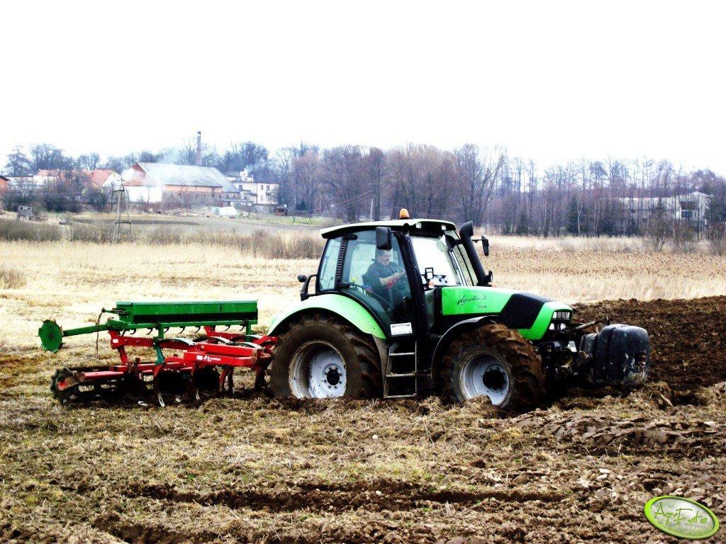 Deutz Fahr Agrotron 150 & Kverneland