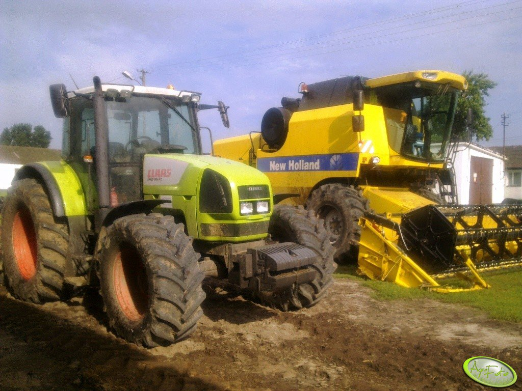 Claas Ares 816 RZ i NH TC 5070