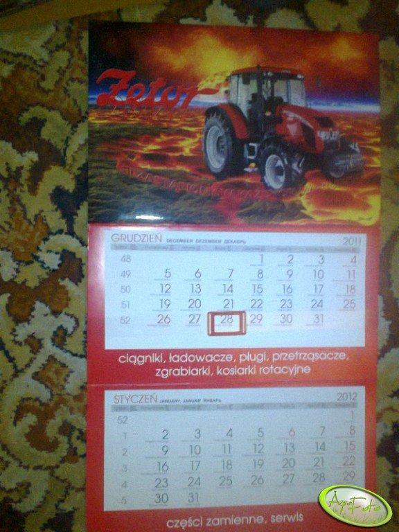 Kalendarz Zetor