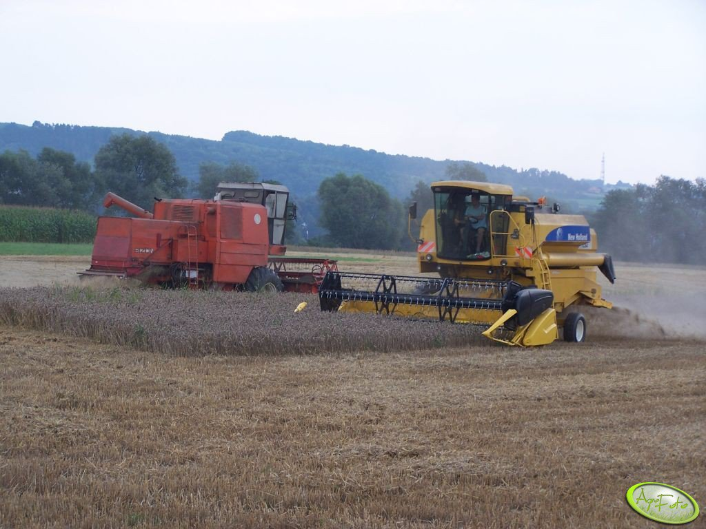 New Holland & Bizon