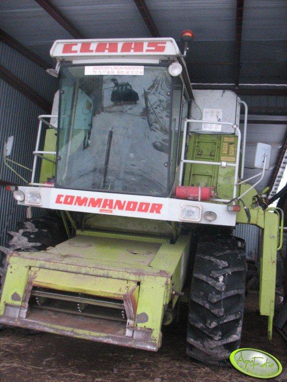 Claas Commandor 114